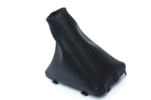 Automatic Shift Boot Leather Synthetic for Audi Q7 07-15  Black