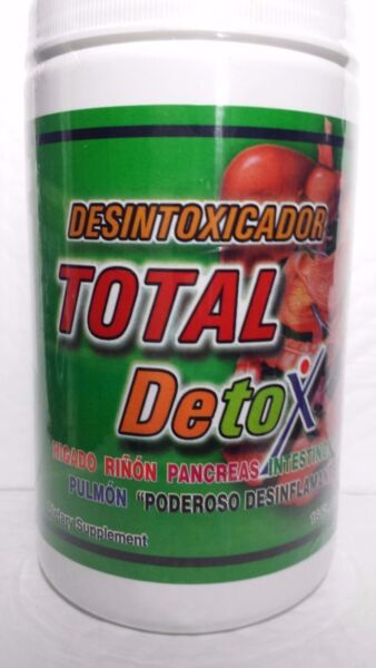 TOTAL DETOX BY NUTRITION & MORE POWERFUL CLEANSER 16 OZ NEW FRESH 0122 MADE USA