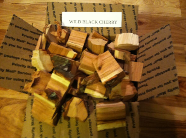 WILD BLACK CHERRY WOOD FOR SMOKING GRILLING BBQing OR GREAT GIFT $25.95