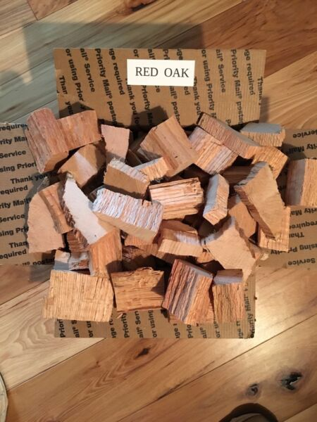 MIGHTY RED OAK WOOD FOR SMOKING BBQing and GRILLING MAKES GREAT GIFTS $25.95