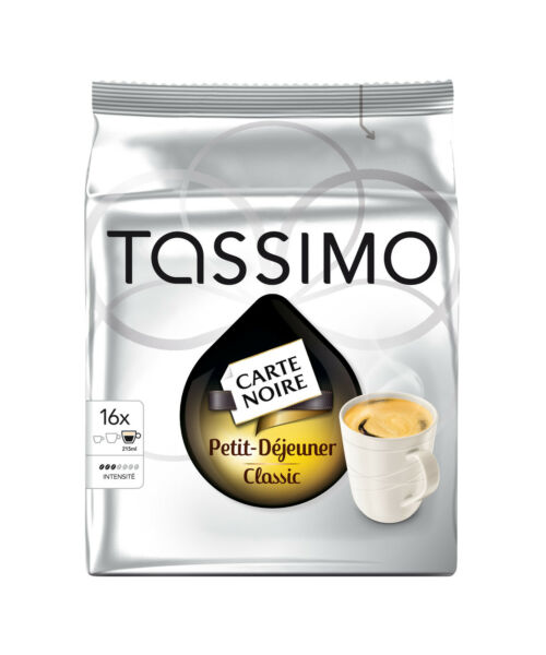 Tassimo Carte Noire Petit Dejeuner Coffee- Pack of 5 80 T disc  Servings