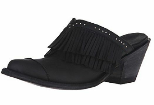New in Box Yippee Kay Yay by Old Gringo Womens Maluina Mule Black 7 7.5