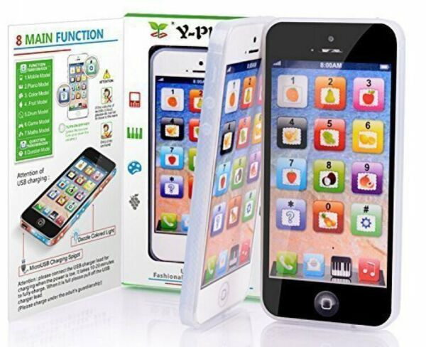 Y-phone Kids Children Baby Toy Phone Education Learning Machine Smart Touch Toy