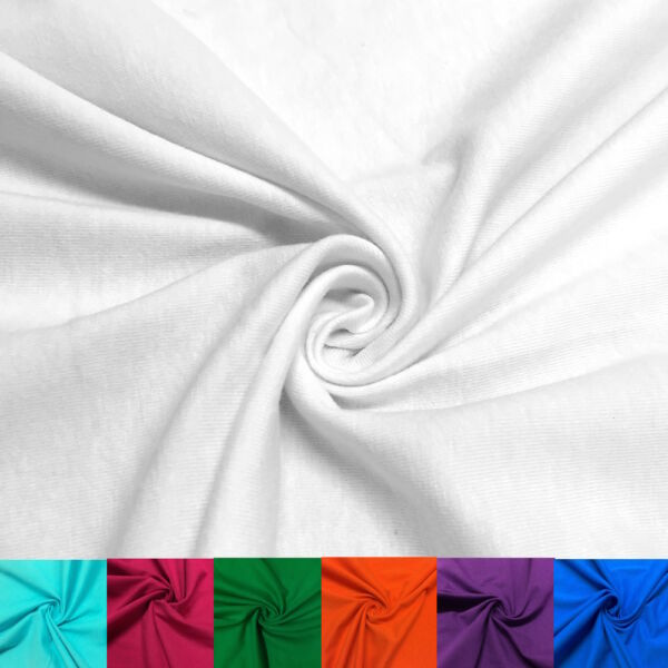 Cotton Jersey Lycra Spandex Knit Stretch Fabric 5860