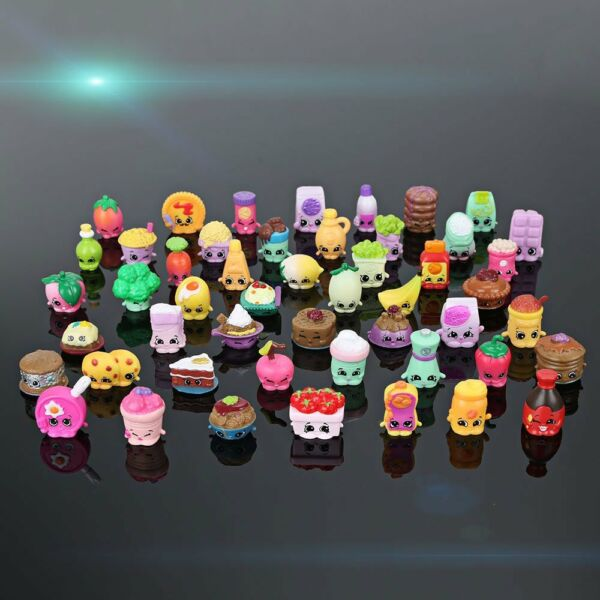 Random Lot of 50 Pcs Shopkins Of Season 6 Characters Shookins Figures Toy Gift