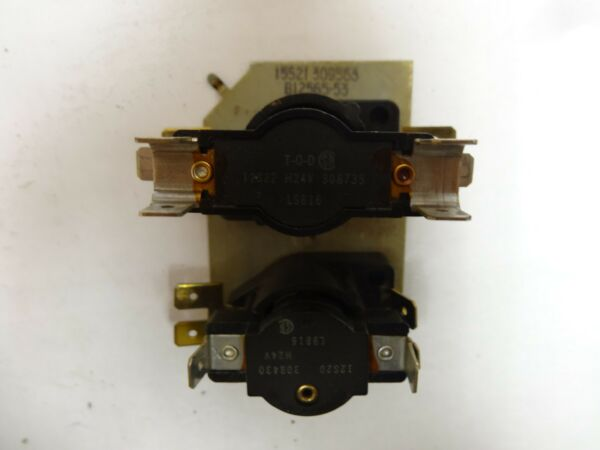 Goodman Furnace Heat Sequencer Relay B12565-53 24V--