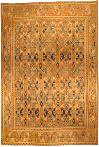 Vintage Spanish Quenca Rug BB4426