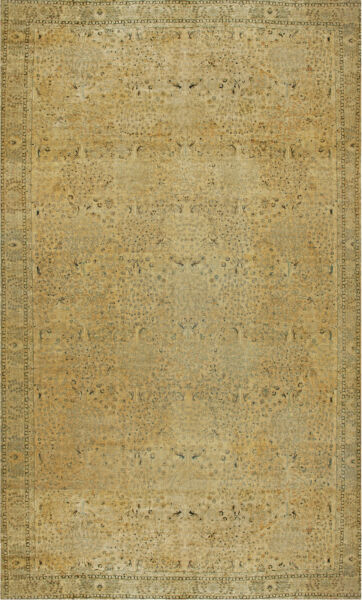 Oversized North Indian Antique Rug BB6035