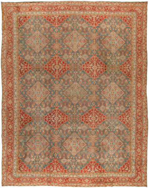 Antique cotton Indian Agra Rug BB0912