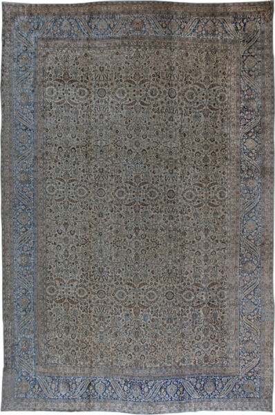 Oversized Antique Persian Kirman Rug (size adjusted) BB0167