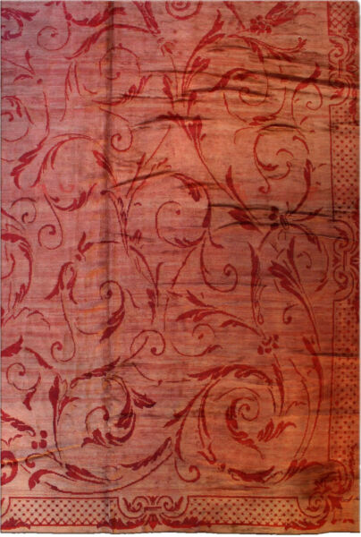 Oversized Antique French Savonnerie Rug BB0715