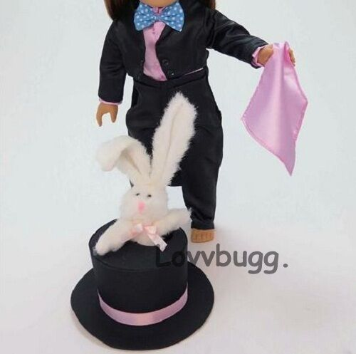 Magician Costume w Rabbit Pet for American Girl 18quot; Doll Clothes amp; Accessory 🐞 $18.95