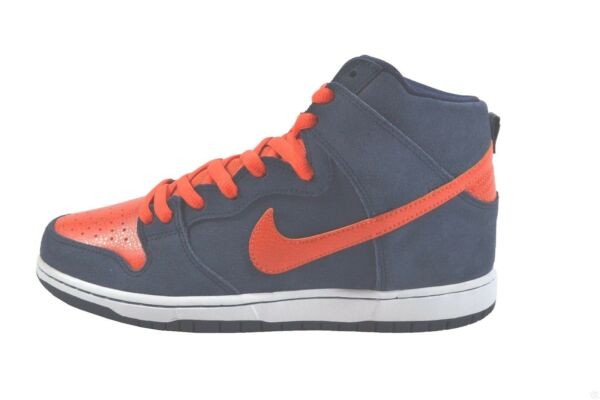 Nike DUNK HIGH PRO SB Obsidian Team Orange White Discounted (511) Men's Shoes
