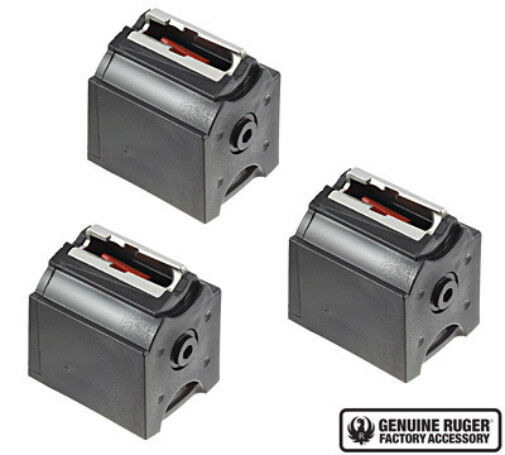 Ruger BX 1 10 22 Rotary Magazine 10 Round .22 LR Mag Value 3 Pack 90451