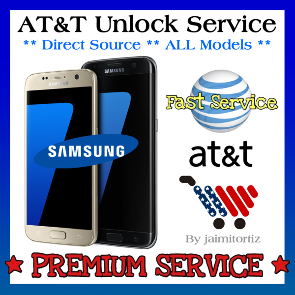 FACTORY UNLOCK CODE✅Samsung Galaxy✅S3 S4 S5 S6 S7✅EDGE AT&T SERVICE Note 2 3 4 5