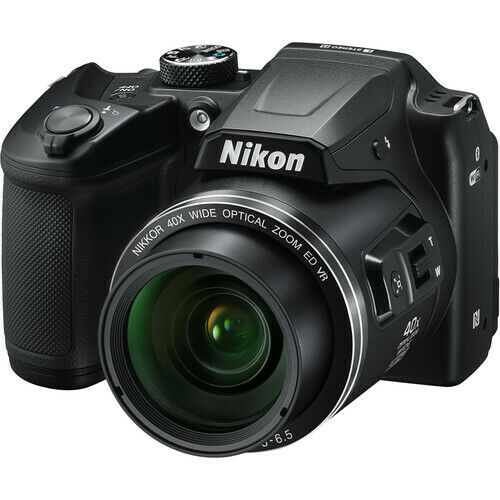 Nikon COOLPIX B500 16MP Digital Camera (Black) + Wi-Fi Brand New!
