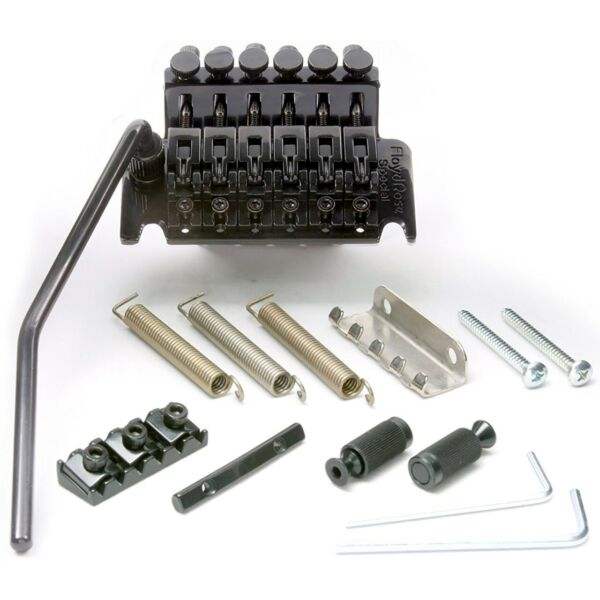 Floyd Rose FRTS2000R3 Special Series Tremolo Bridge System with R3 Nut Black