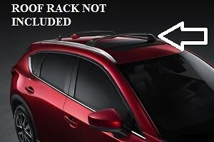 2017 2018 2019 2020 2021 Mazda CX 5 Cross Bars Roof Rack Required 00008LR07 $194.96