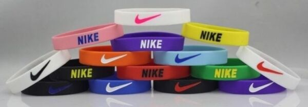 Nike Sport Baller Band Silicone Rubber Bracelet Wristband Cuff Bangle Stretch