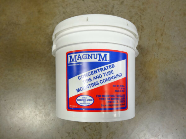 25lb Pail Heavy Tire & Tube Mounting Compound Lube Soap Tire Lube