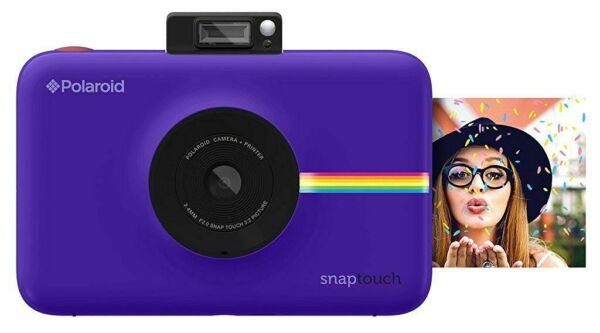 Polaroid Snap Touch Purple Print Digital Camera with LCD Display
