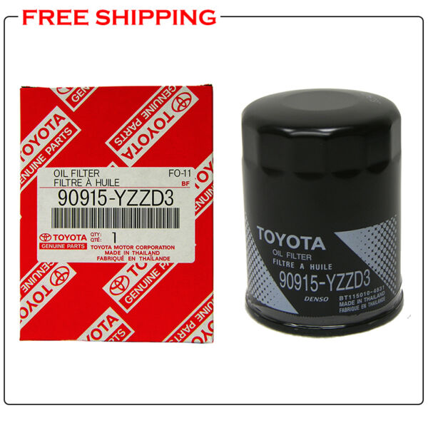 TOYOTA OEM Engine-Oil Filter 90915-YZZD3 for 4Runner Tundra Tacoma