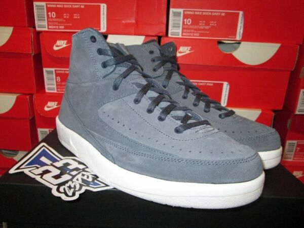 SALE AIR JORDAN II 2 RETRO DECON THUNDER BLUE WHITE 897521 402 SZ 7-11.5 NEW