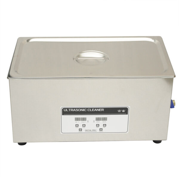 VFN 110V Professional Ultrasonic Cleaner 22L Heater Timer Tank Industry Jewelry
