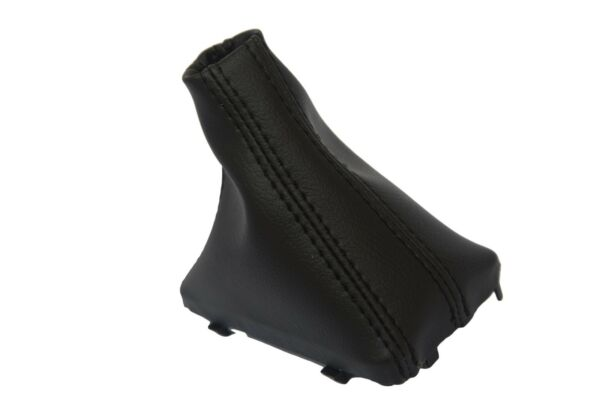 Automatic Shift Boot Real Leather for Audi Q7 07-15 Black