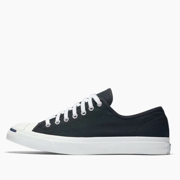Mens Converse Jack Purcell Jack Ox Fashion Sneaker Black Canvas All Sizes NIB