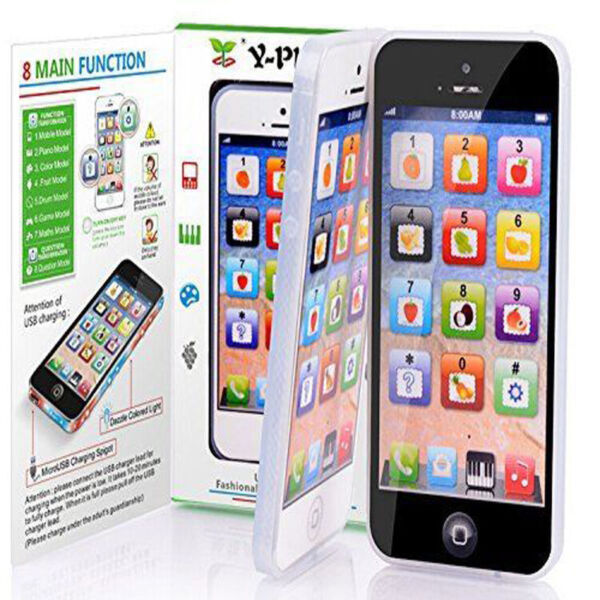 Music Cell Phone Screen Touch Simulator Educational Learning Toy Gift for Kid US