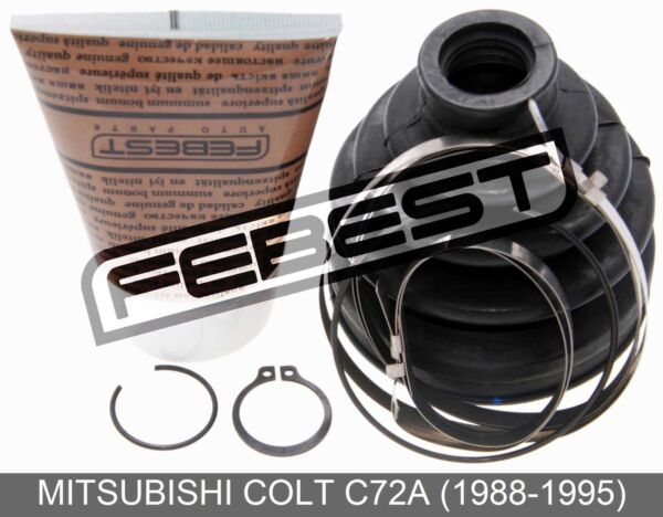 Boot Outer Cv Joint Kit 72.6X89.2X20.2 For Mitsubishi Colt C72A (1988-1995)