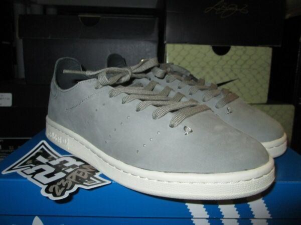 SALE ADIDAS STAN SMITH LEA SOCK LEATHER TRACAR GREY WHITE BB0007 NEW CLASSIC