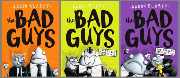 Bad Guys Series Collection Set Books 1-3 Paperback Aaron Blabey Brand New Lot
