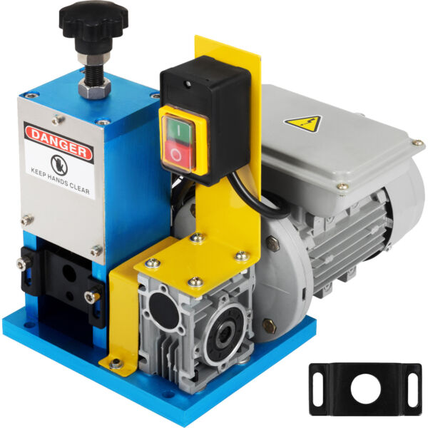 Electric Wire Stripping Machine Portable Powered Comercial 1 4HP Cable Stripper $152.97