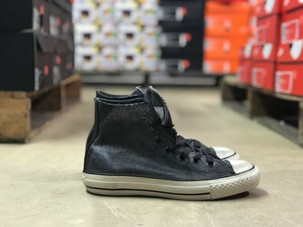 NEW Converse by John Varvatos CTAS Hi 150175C Silver/Black Unisex Sneakers Shoes