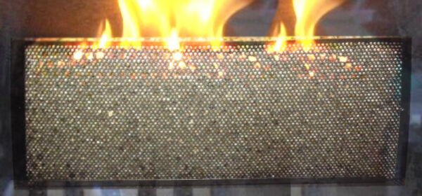 NEW Stainless Steel Wood Stove Fireplace Wood Pellet Basket 18x8x8