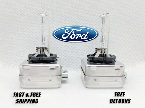 Front HID Headlight Bulb For Ford Flex 2009-2017 Low & High Beam Stock Qty2