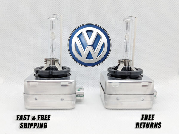 Front HID Headlight Bulb For VW CC 2013-2017 Low & High Beam Stock Fit Qty of 2