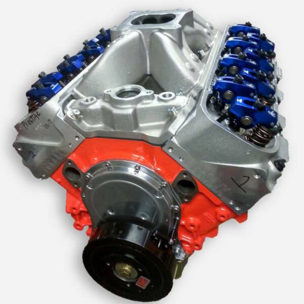 600 Hp Big Block Chevy 489 Stroker Custom BBC Crate Engine Complete 454 496 502