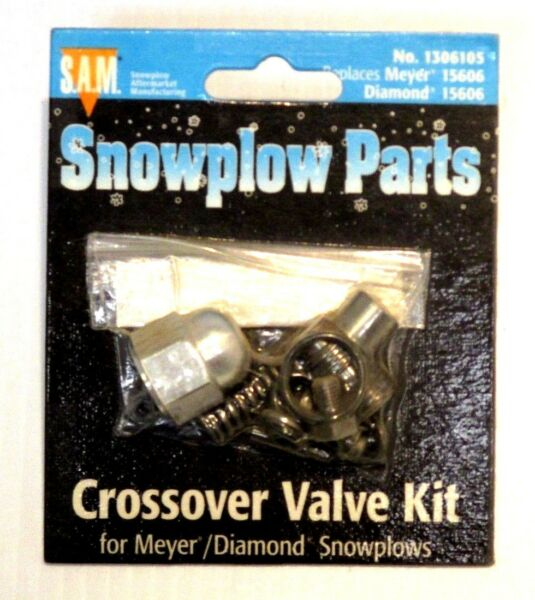 Crossover valve kit Snow Plow Meyer 15606 part #1306105