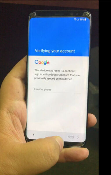 Google account FRP (bypass) removal for Samsung galaxy S8 and S8 Plus