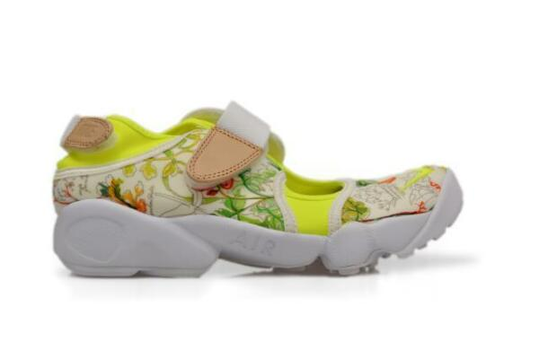 Womens Nike Air Rift Liberty QS - 848476 101 - White Volt Vanchetta Trainers