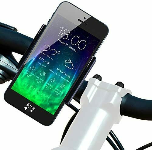 Heavy Mount Motorcycle Bicycle Bike Handlebar Holder For iPhone 6 6s Plus 5 5s $8.95
