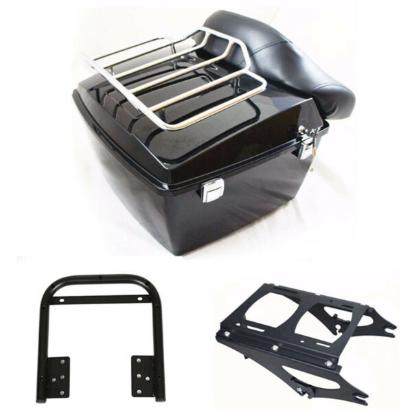 King Tour Pak Trunk For Harley Davidson Street Road Glide Pack amp; bracket 09 13 $277.00