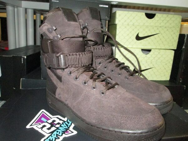 SALE NIKE AIR FORCE 1 SF HIGH SPECIAL FIELD VELVET BROWN AF1 864024 203 SZ 8-13