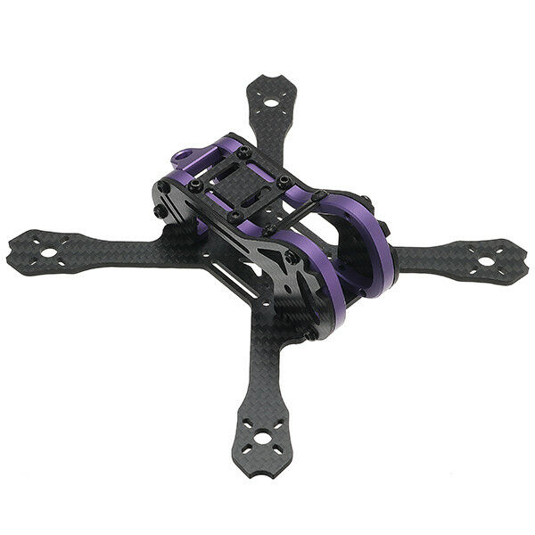 Realacc Purple150  150mm Wheelbase 2.5mm Arm Frame Kit 67g for RC Drone FPV Raci