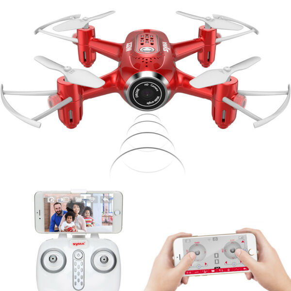 SYMA X8HW WIFI FPV Real Time RC Drone Altitude Hold Quadcopter Headless US Ship
