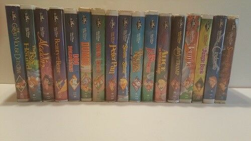 Walt Disney ~Black Diamond~ 17 set (VHS1992) with