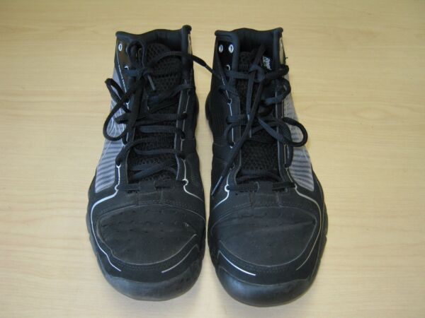 Mens used Reebok sublite pro 3D fuse frame high top sz 9 Black good condition